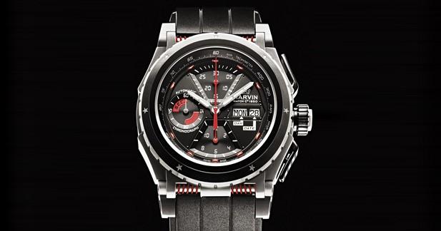 Une montre Marvin conçue en collaboration avec Sébastien Loeb