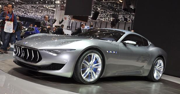 Maserati Alfieri Concept : Méchant anniversaire