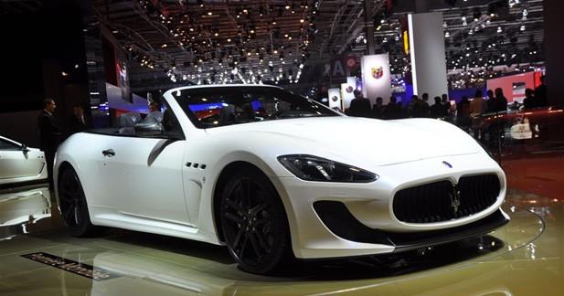 La Maserati GranTurismo MC Stradale tombe le toit