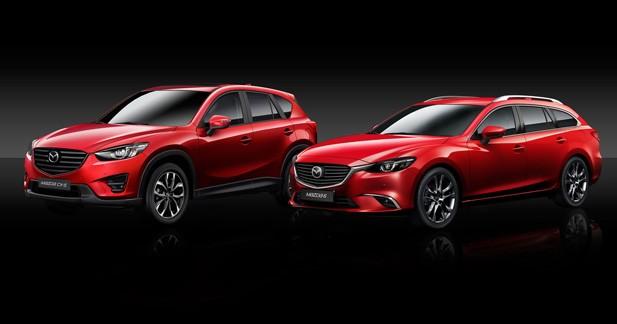 Les Mazda6 et CX-5 2015 sont prêts pour la rentrée