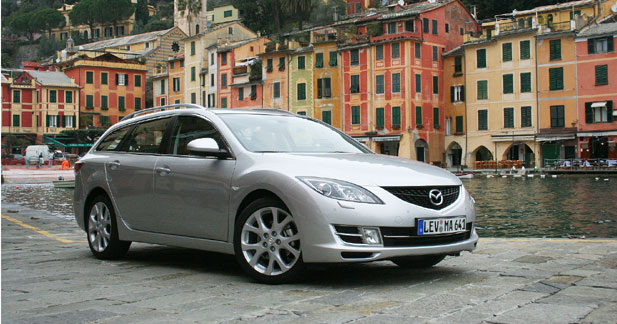 mazda6 fastwagon mzr cd 140 break sans sushi. Black Bedroom Furniture Sets. Home Design Ideas