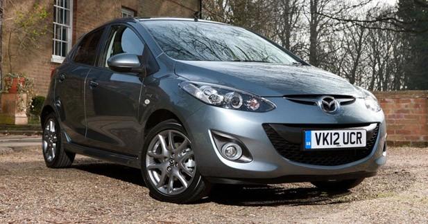 Une série spéciale Venture pour la Mazda2 en Angleterre