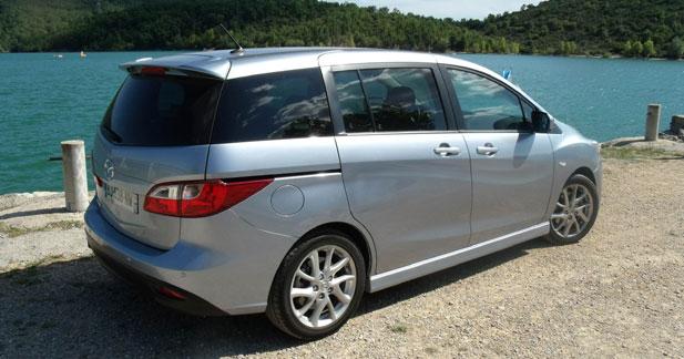 Essai Mazda5 1.6 MZ-CD 115 chevaux : Alternative nipponne !