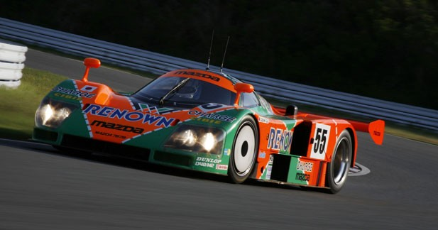 Mazda entre dans la légende des 24 Heures du Mans avec la 787 B