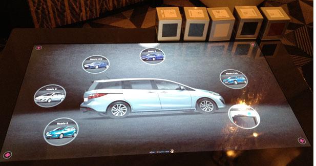 Mazda va tester la table numérique de Microsoft dans son réseau