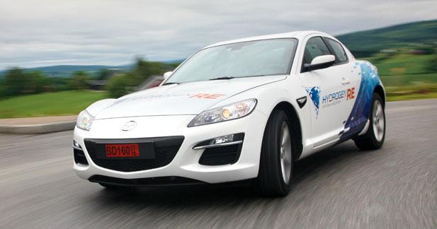 Mazda fera tourner une RX-8 Hydrogen au Mans
