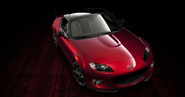 Série spéciale Mazda MX-5 : 25 ans, ça se fête