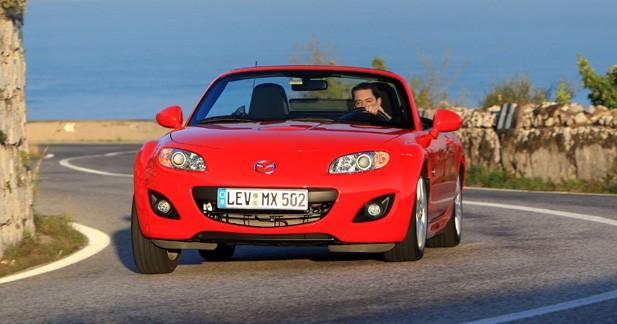 Essai Mazda MX-5 restylée 2.0 MZR : la vingtaine pétillante