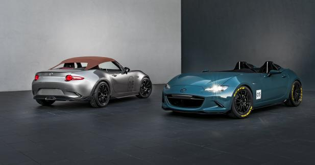 Les Mazda MX-5 Spyder et Speedster se dévoilent