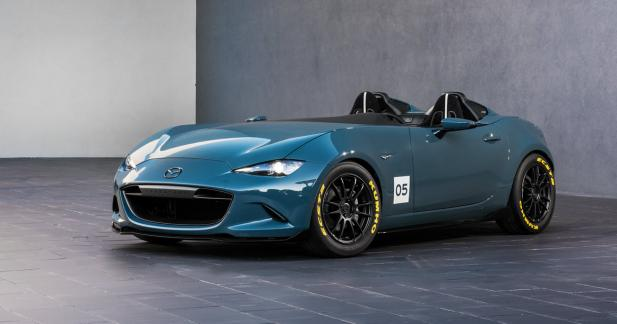 Cockpit au grand air pour la MX-5 Speedster