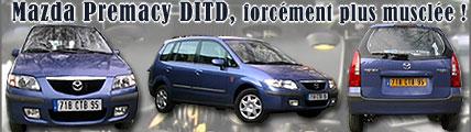 Mazda Premacy 2.O DiTD, une mise à niveau musclée !