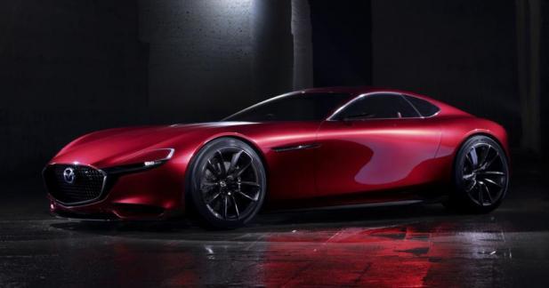 Mazda RX-Vision: le rotatif fait son retour