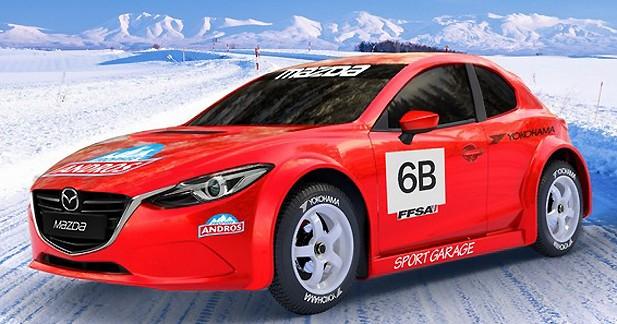 Mazda officiellement au départ du Trophée Andros