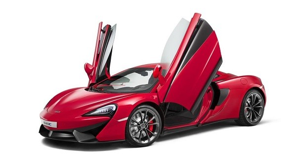McLaren 540C: une 570S moins puissante et au rabais