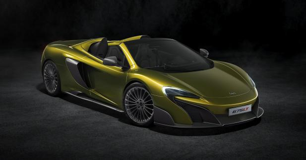 McLaren 675LT Spider : pistarde au grand air