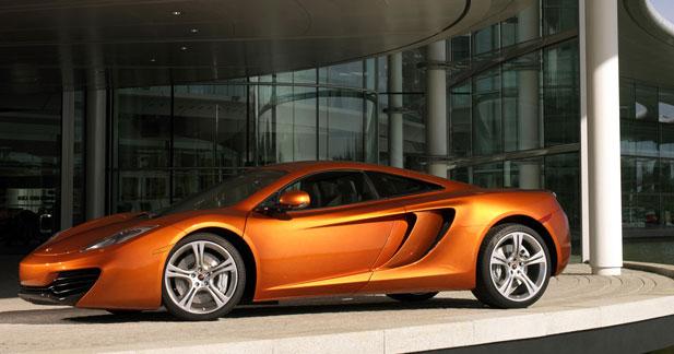 McLaren annonce les réseaux de vente de sa MP4-12C