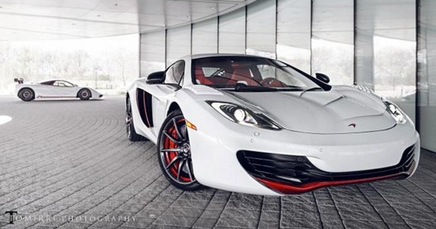 McLaren Bespoke Project 8 : du sur mesure
