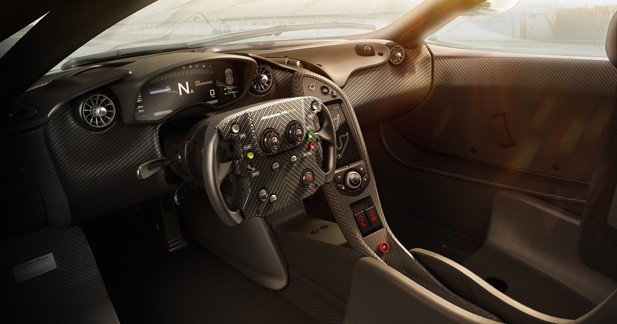 Invitation à bord de la McLaren P1 GTR