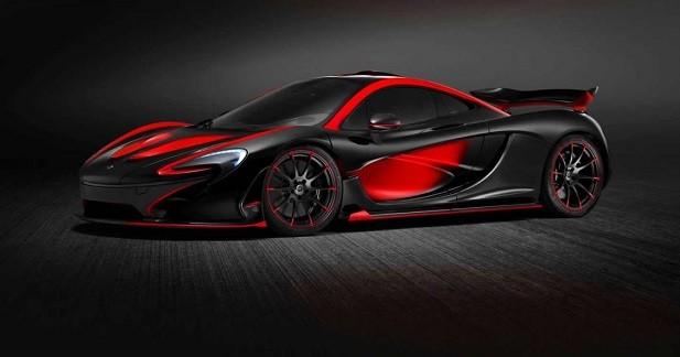 McLaren P1: MSO lui offre le rouge et le noir