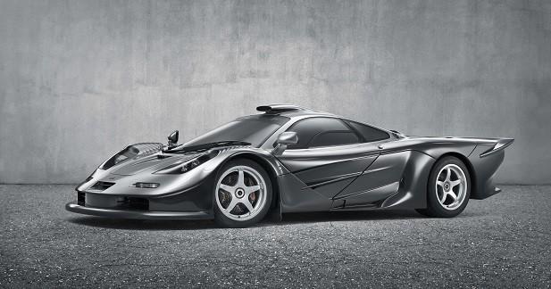 L'un des trois exemplaires de F1 GT aussi présent à Goodwood