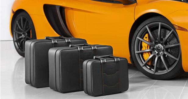 McLaren sort une collection d'accessoires autour de la MP4-12C