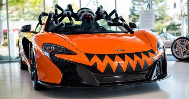 La McLaren 650S Spider fête aussi Halloween