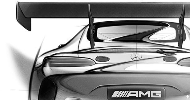 Mercedes-AMG GT3: premières esquisses du modèle de compétition