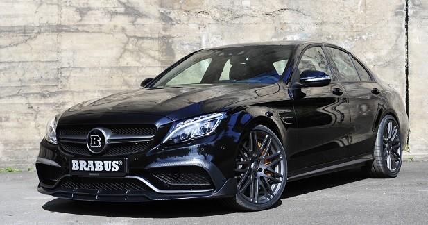 Mercedes-AMG C63 S: 600 ch grâce à Brabus