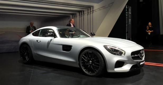 Mondial Auto 2014 : Mercedes-AMG GT