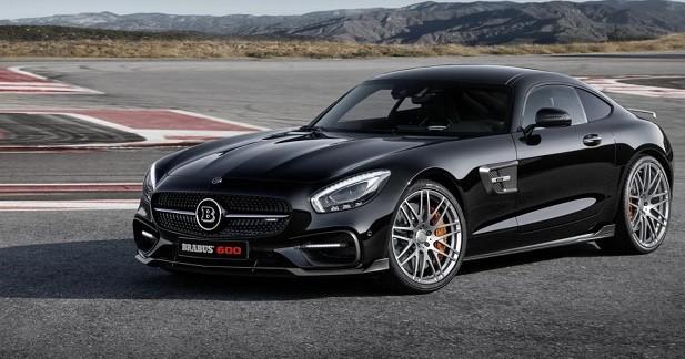 Brabus revisite la Mercedes-AMG GT