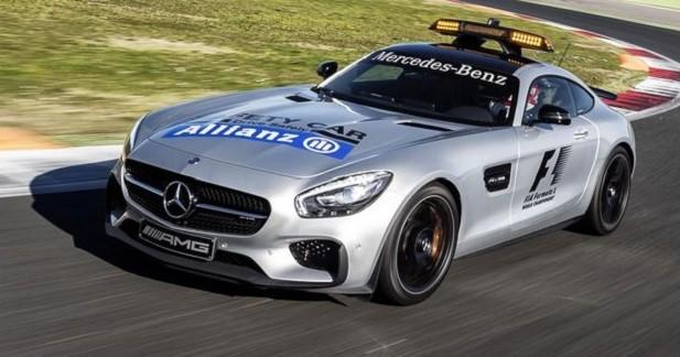 La Mercedes-AMG GT S devient Safety Car de F1