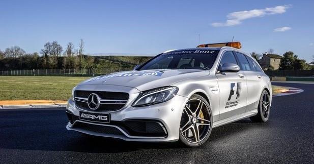 La Mercedes-AMG C 63 S comme voiture médicale