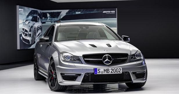 Mercedes-Benz C63 AMG Edition 507 : 50 ch supplémentaires