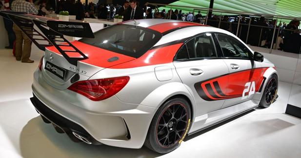 Mercedes CLA 45 AMG Racing Series : prête à en découdre