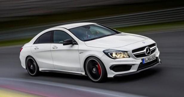 Mercedes CLA AMG : apparition précoce