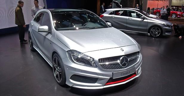 Mercedes Classe A 2012 : Refonte totale