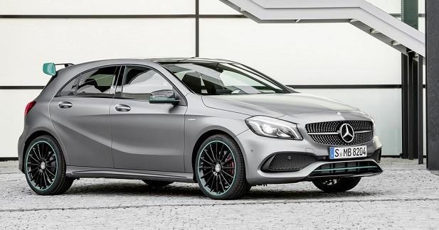 Mercedes dévoile la Classe A restylée