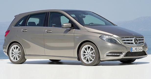 Le Mercedes Classe B élu Taxi de l'année 2012/2013