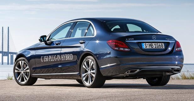 Detroit 2015: la Mercedes Classe C 350 Plug-In Hybrid et son appétit d'oiseau