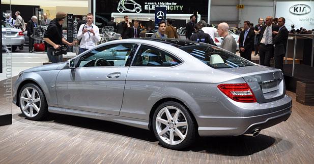 Mercedes Classe C Coupé : première fois