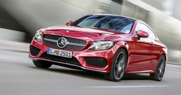 Mercedes Classe C Coupé: graine de star