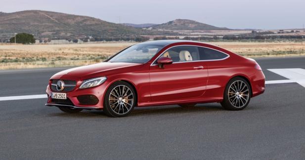 Mercedes Classe C Coupé: tous les tarifs