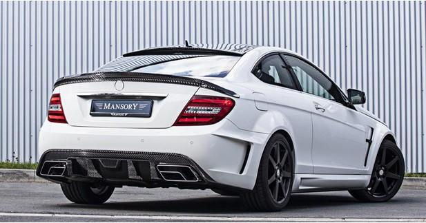 Mansory dévoile un nouveau programme pour le coupé Mercedes Classe C