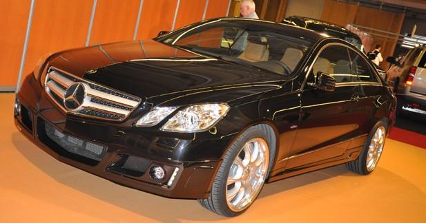 La Mercedes Classe E Coupé Brabus à Paris