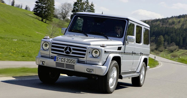 mercedes classe g restyl cube in puisable. Black Bedroom Furniture Sets. Home Design Ideas