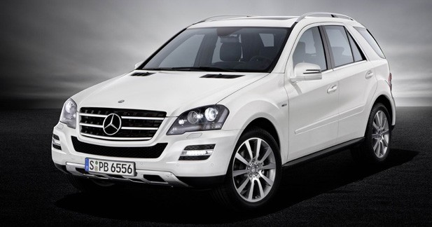 Mercedes Classe M Grand Edition : Ambiance sportive