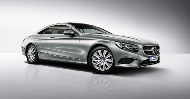La Mercedes Classe S Coupé adopte un V6