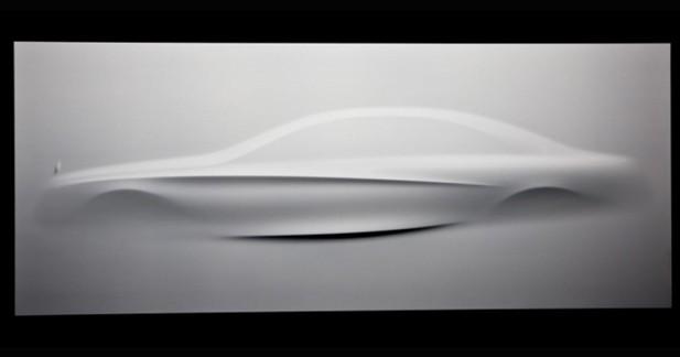 Mercedes dévoilera la Classe S sous forme d'une sculpture au Mondial de Paris