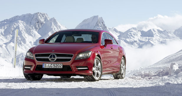Mercedes CLS 4MATIC : coupé brise-glace