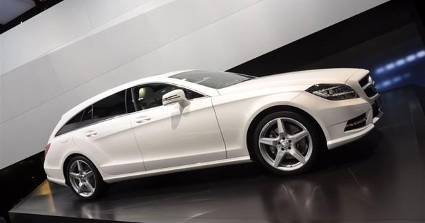 Mercedes CLS Shooting Break Concept : la CLS poursuit son effeuillage